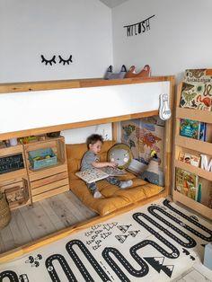 Toddler Boy Room Decor, Boys Room Decor, Ikea Toddler Room, Toddler Boy Beds, Toddler Bedding Boy, Toddler Boy Bedrooms, Boys Playroom Ideas, Childrens Bedrooms Boys, Montessori Toddler Bedroom