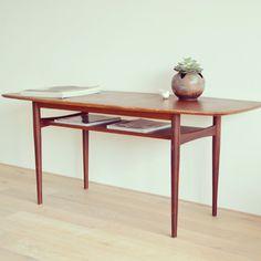 Coffee Table, Couchtisch, 60er, danish design von LeFlair  auf DaWanda.com