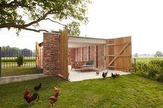 Anerkennung: Remisenpavillon in Affinghausen von Wirth Architekten, Bremen