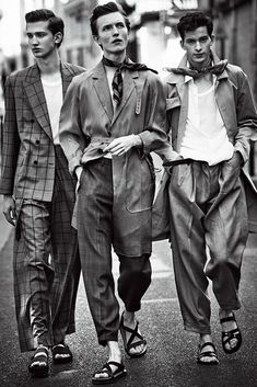 """Fine and Dandy"" lensed by Matthew Brookes for WWD"