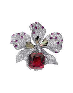 Broche de diamantes (Cartier).
