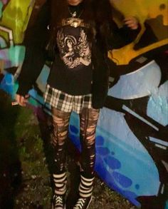 Goth Girl Outfits, Pastel Goth Outfits, Edgy Outfits, Cute Casual Outfits, Grunge Outfits, Comfortable Outfits, Pretty Outfits, Aesthetic Grunge Outfit, Aesthetic Clothes