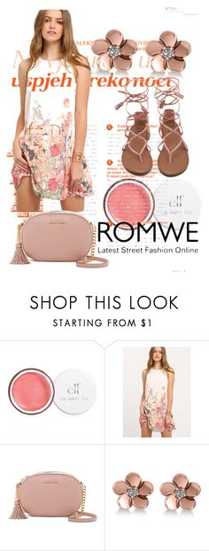 """""""ROMWE"""" by meri55 ❤ liked on Polyvore featuring MICHAEL Michael Kors and Allurez"""