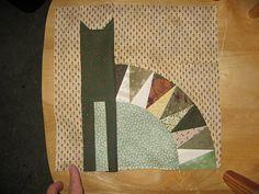 Calico Cat Quilt Pattern | Calico cat block | Flickr - Photo Sharing!