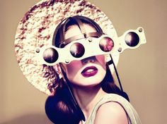 Would you wear these haute accessories made from recycled Lexus Hybrid parts? (Maybe if you're Lady Gaga.)