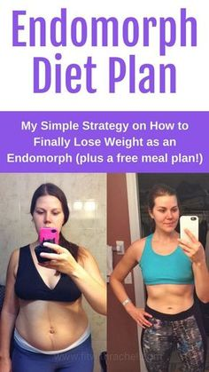 Endomorph Diet and Weight Loss Techniques