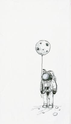 photo-filter-design-tekening-drawing-black-and-white-face-foto-cartoon-cute-astronaut Source by Space Drawings, Cool Art Drawings, Pencil Art Drawings, Art Drawings Sketches, Art And Illustration, Astronaut Illustration, Ink Illustrations, Foto Cartoon, Cartoon Kunst