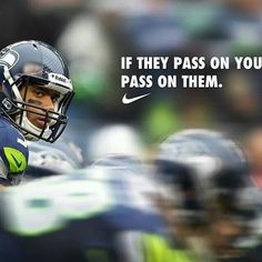 Love this. Russell Wilson. Another of my favorite athletes.