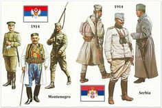 Serbia and Montenegro in WW1, 1914