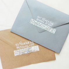 This is a DIY washi tape tutorial that uses items you already have in your home. Read this tutorial and get to making your DIY washi tape within 2 minutes! Diy Washi Tape Tutorial, Washi Tape Crafts, Washi Tapes, Diy Envelope, Envelope Design, Envelope Addressing, Wedding Planner Office, Pen Pal Letters, Handwritten Letters