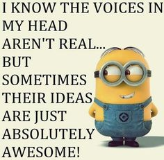 Cute Lol Funny Minions AM, Wednesday September 2015 PDT) - 10 pics - Minion Quotes Minions Love, My Minion, Minions Minions, Minion Things, Minion Stuff, Funny Minion Memes, Minions Quotes, Minion Humor, Minion Pictures