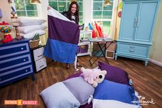 DIY @tmemme28's Pillow Mats for your kids! Tune in to #homeandfamily weekdays at 10/9c on Hallmark Channel!