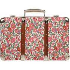 Liberty Print Suitcases Betsy Liberty Print Miniature Suitcase and other apparel, accessories and trends. Browse and shop 24 related looks.