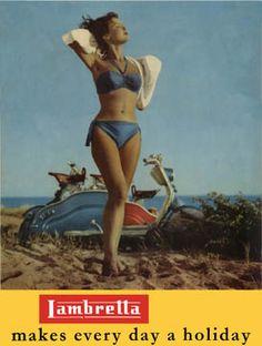 Lambretta LD vintage ad