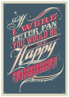 Typographic and Poster works by GOLPEAVISA , via Behance