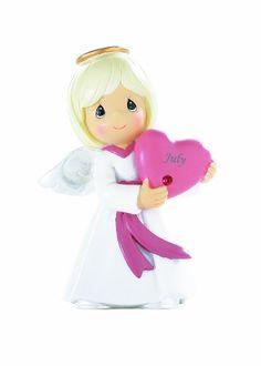 Precious Moments- July Birthday Angel - http://www.preciousmomentsfigurines.org/faith/precious-moments-july-birthday-angel/