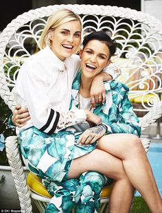 They've made no secret of their affections, and model and DJ Ruby Rose has never been one to hide her feelings. Lgbt, Orange Is The New Black, Pretty People, Beautiful People, Beautiful Women, Cameo The Label, Dahl, Androgynous, Stylish Girl