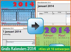 Ontdek dit mooie setje van 10 gratis kalenders voor t jaar 2014 in Acrobat PDF bestandsformaat. De 2014 editie is eindelijk gelanceerd. De 2013 editie was een groot succes; de kalenders werden 80000x gedownload (ongeveer). We hopen dat je de 2014 editie ook leuk zal vinden. Ze zijn te mooi zijn om niet te downloaden....