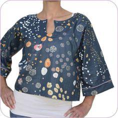 Patron de couture Sasa (femme) - blouse kimono