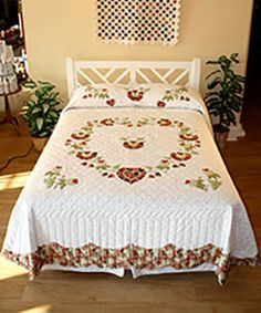 Find a great selection of our current heirloom quilts in stock at Village Quilts and ready for you to purchase.