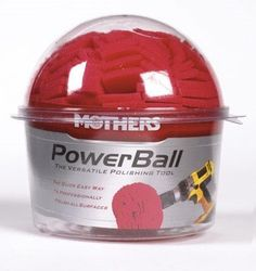 Mothers Powerball Polisher Aluminum - http://www.productsforautomotive.com/mothers-powerball-polisher-aluminum/