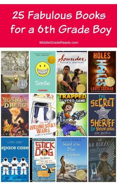 Looking for some of the best books for a grade boy? I've got you covered! Today, I'm sharing my top 25 picks for this middle grade age group! Read on to check them out! The Effective Pictures We O 5th Grade Books, 6th Grade Reading, 6th Grade Ela, Sixth Grade, Kids Reading, Seventh Grade, Reading 2016, Beach Reading, Teaching Reading