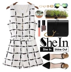"""""""Shein"""" by oshint ❤ liked on Polyvore featuring Mulberry, NARS Cosmetics, Bobbi Brown Cosmetics, Urban Decay and Jules Smith"""