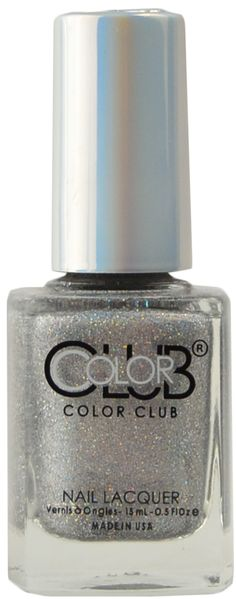 Color Club Break It Up, Free Shipping at Nail Polish Canada Spa Branding, Polish Names, Color Club, Holographic Glitter, Base Coat, Nails Magazine, Bright Colors, Manicure, Perfume Bottles