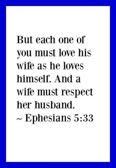 Bible Verses About Honoring Your Husband