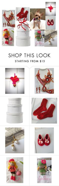 """""""Presents"""" by artistinjewelry ❤ liked on Polyvore featuring DCWV"""