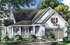 Eplans Country House Plan - Hearth-Warmed Great Room - 1700 Square Feet and 3 Bedrooms from Eplans - House Plan Code HWEPL09757
