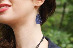 Tumbled Glass Earrings