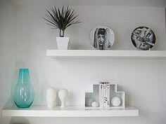 Ikea LACK Floating Shelves.