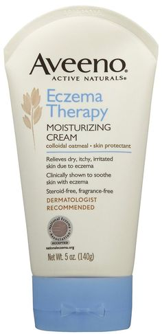 """Aveeno Eczema Therapy Moisturizing Cream, $12.69 from Drugstore.com   41 Beauty Products That """"Really Work,"""" According To Pinterest"""
