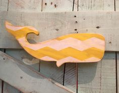 A personal favorite from my Etsy shop https://www.etsy.com/listing/229700900/distressed-yellow-and-white-chevron-wood