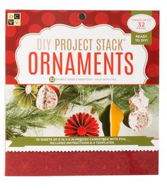 """DCWV 6""""x6"""" Project Stack: Christmas Ornaments"""
