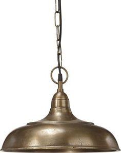 Philadelphia Taklamp Råmässing 35cm