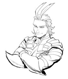 Toshinori Yagi aka All Might