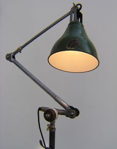 Unique rare and beautiful vintage midgard studio light lamp for industrial interior design  – We collect similar ones – Only/Once – www.onlyonceshop.com