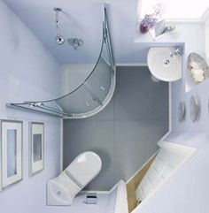 If you have a small bathroom don't worry, we've got plenty of small bathroom ideas for you. No matter how compact your room, we have a chic design to fit your need. Bathroom design Small bathroom ideas – small bathroom decorating ideas on a budget Small Shower Room, Small Space Bathroom, Small Showers, Tiny Bathrooms, Bathroom Design Small, Bathroom Layout, Modern Bathroom, Bathroom Ideas, Bathroom Images