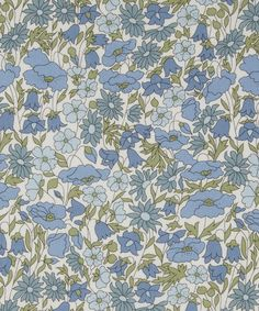 Liberty Of London Fabric, Liberty Print, Liberty Fabric, Christmas In Australia, Vintage Floral Fabric, Lawn Fabric, Printed Linen, Icon Design, Poppies