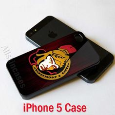NHL Ottawa Senators Logo New Case Cover for iPhone 5