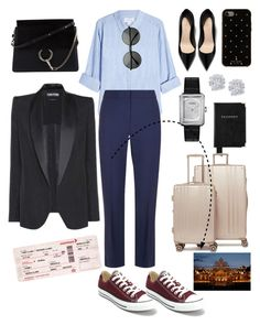 """""""Untitled #89"""" by merejm ❤ liked on Polyvore featuring Velvet, Diane Von Furstenberg, Converse, Chloé, Kate Spade, Chanel, Tom Ford, Aspinal of London, Effy Jewelry and CalPak"""
