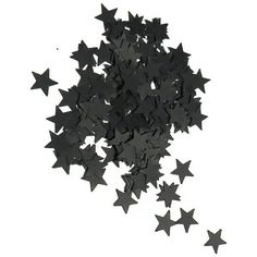 Star Confetti - Black Stars Wedding Decor - Biodegradable confetti - 200 pieces