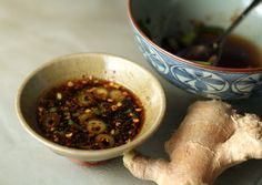 Ginger Dipping Sauce | Perfect for wontons, dumplings and potstickers