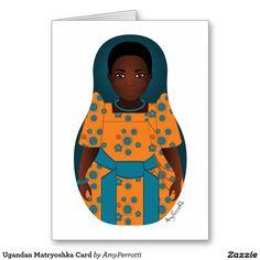Ugandan Matryoshka Card