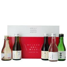 【送料無料】 日本酒 純米酒 ミニボトル 飲み比べセット 180ml 5本 (上善如水、加賀鳶など)
