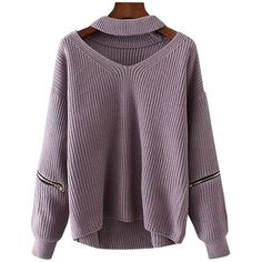 Plus Size Choker Sweater and other apparel, accessories and trends. Browse and shop 8 related looks.