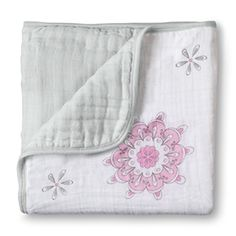 aden + anais l for the birds - medallion classic dream blankets