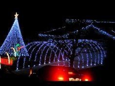 Colorado Springs Colorado Christmas Light Show 2010!!!
